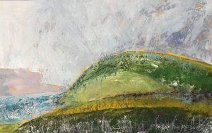 Ayrshire Shoreline - Oil on panel