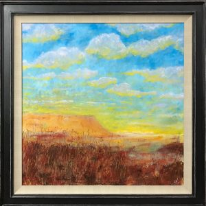 Highland Sunset oil on canvas