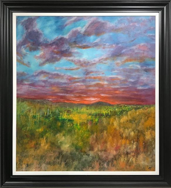 Across Rannoch Moor oil on canvas