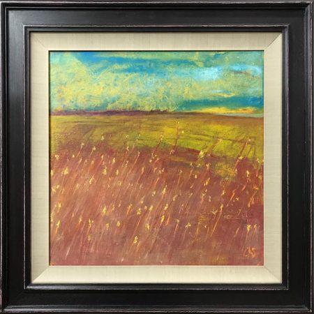 Glimpse oil on canvas